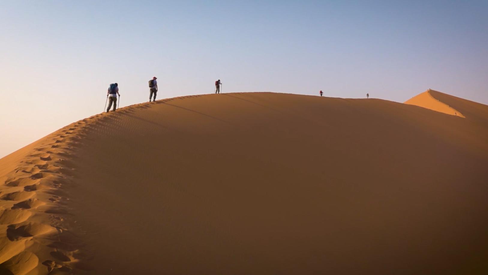 Nambia – a piedi nel deserto più antico